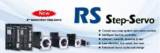RS Series Step-Servo Drives