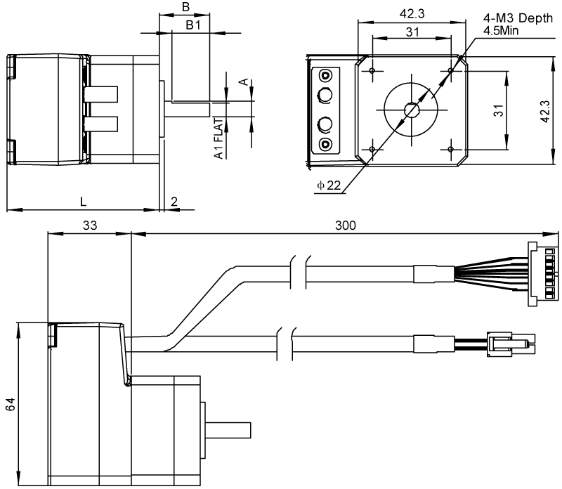Driver Dimensions AM17 Series