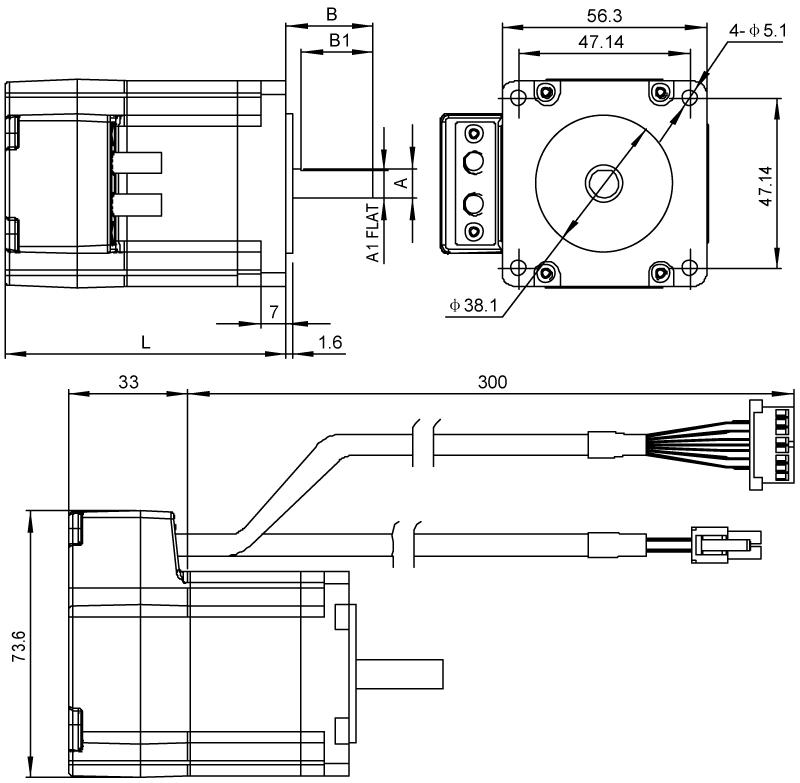 Driver Dimensions AM23 Series