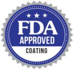 FDA approved coating