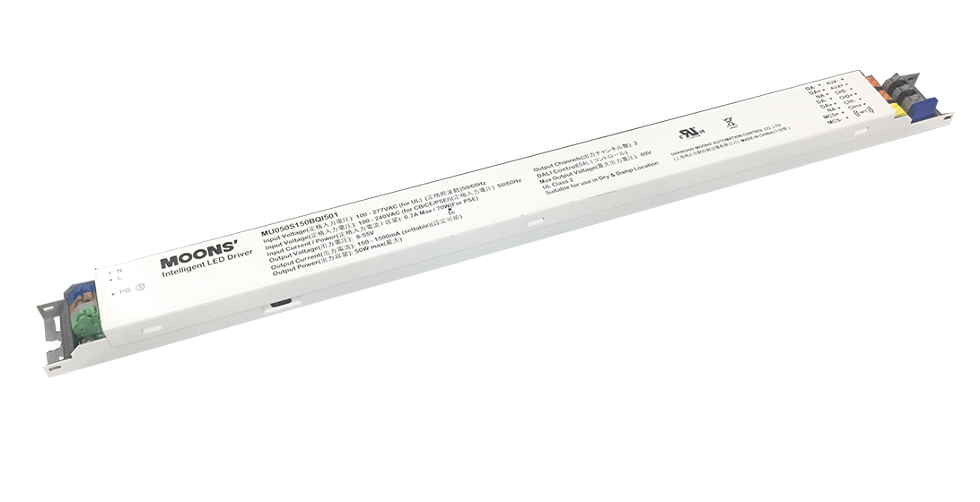 DALI slim dual channel LED Driver