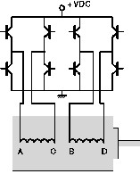 2 phase bipolar stepper motor drive principle