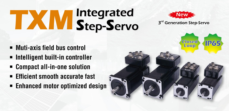 NEMA 34 IP65 TXM Integrated Step-Servo Motors