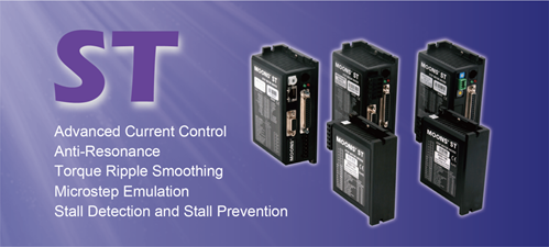 ST Series Two Phase DC Stepper Motor Drives