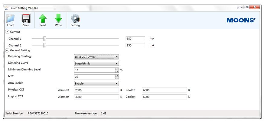 dt8-parameter-setting
